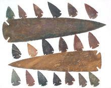Agate Arrowheads | Indian Agate Arrowheads