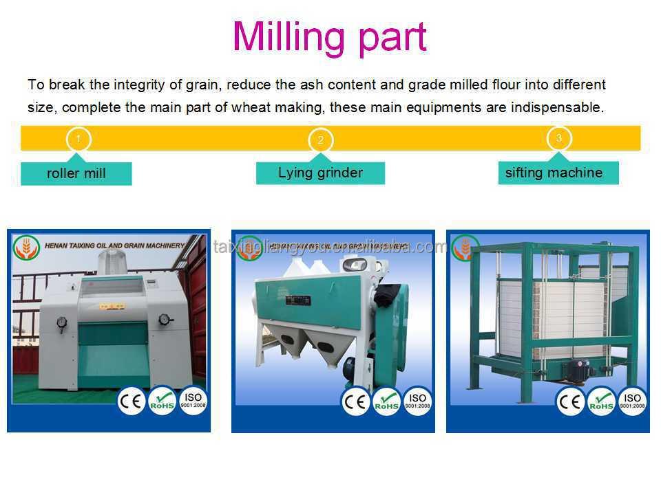 Venda quente insustrial moinho de milho elétrica