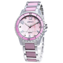 4 colors watch alloy girls ladies casual watch 2015