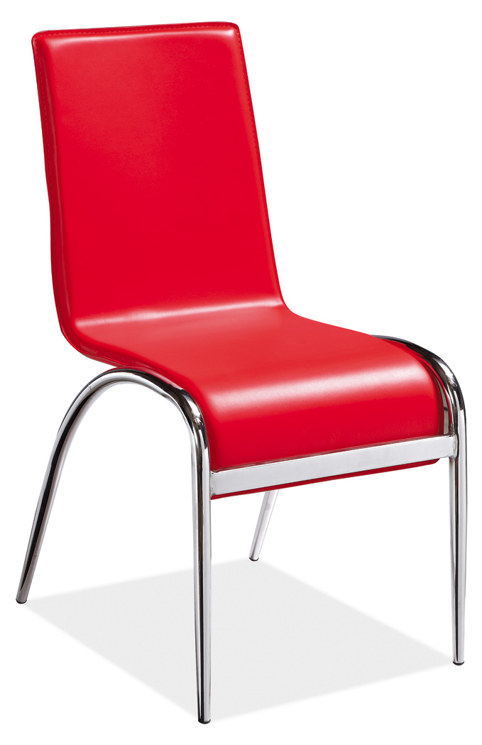 cheap modern european style metal dining chair used in home furniture