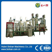 20-30T Small complete set rice milling production line