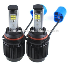 super bright high power bulb h7 h9 h11 h13 round led auto h4 led headlight bulbs for car