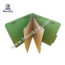 2 Dividers 1/3 Cut Classify File Folders, Paper File Folder, Manila File (BLY8-0047PF)