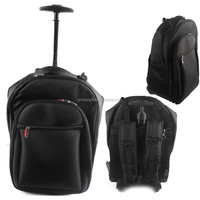 Lightweight & Tough Wheeled Laptop Carry Case Business Computer Travel Bag Padded Laptop Trolley Bag