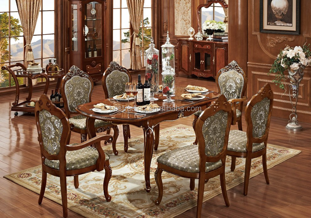 solid wood carved dining room tables buy wood carved dining room