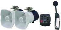[3 Sounds] Digital Motorcycle Auto Car Horn Truck Siren 12V (JBQ8020)