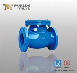 Spheroidal Graphite iron swing check valve
