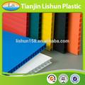 riutilizzabili flessibile colorato di taglio pp economici 4x8 coroplast foglio