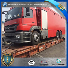 6x4 fire truck with mercedes benz AXOR2629 truck chassis