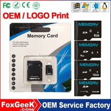 Top Brand SD Memory Card 64G Class 10 with Blister Packing,Bulk Price 64GB micro Capacity SD Card 2 4 8 16 32 128 256 M mb