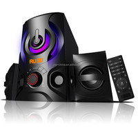 New arrival !!! 2.1 Home Theater Speaker Compatible with USB / SD / MMC, FM, DVD, CD, PC, laptop