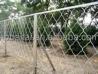 plastic coated outdoor dog wire fence
