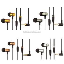 JBM MJ007 Stereo In-Ear Earphone 3.5mm Headset w/ MIC For Cellphone MP3 MP4