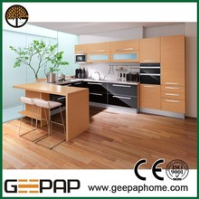 acrylic apartment kitchen cabinet made in China