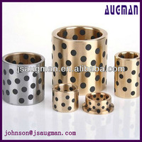 bronze casting graphite filled brass drill guide bushings