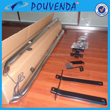 stainless steel side bar running board side step with light for 2015 Qashqai from Pouvenda Manufacturer
