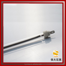 IR milky/ruby/black color infrared quartz heater tube -sample free