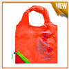 Attractive pocket strawberry folding shopping bags