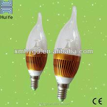 New Design Candle 3W E14 LED Lighting Bulb