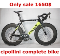 china Full carbon fiber road bike,3500group set and cheap carbon bicycle,cipollini rb1k complete carbon bike Hot on sale