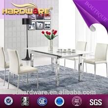 sala de jantar conjunto design moderno mesa de jantar extensível