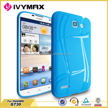 high quality mobile phone TPU case for huawei G730,cheap mobile phone accessories at GuangZhou factory