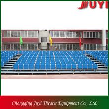 Jy-716 estadio asientos de aluminio de las gradas del deporte banco asientos asiento de plástico gimnasio trona