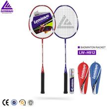 Factory wholesale fly aluminium and steel new design badminton racket