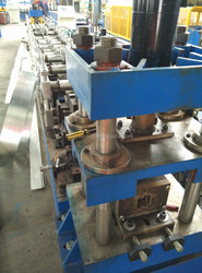 Steel Strut Channel Roll Foming Machine, Strut Channel Machine with Control Station