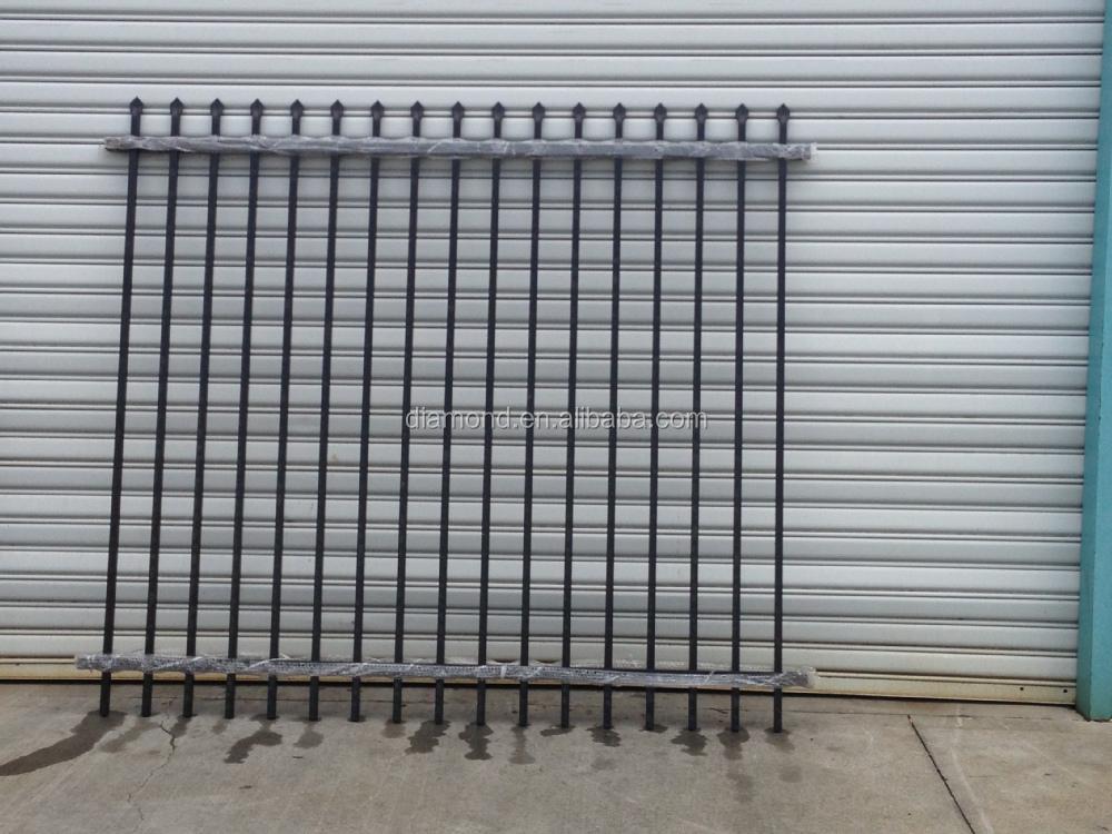Galvanized steel fence panels metal
