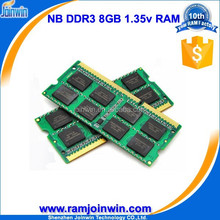 high performance 1.35v laptop ddr3 ram price in china, ddr3I 8gb ram, 8gb ddr3 ram