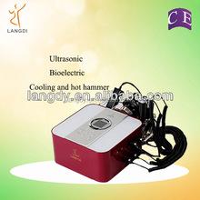 Portable facial massage device, Salon beauty equipment ultrasound led machine for skin rejuvenation