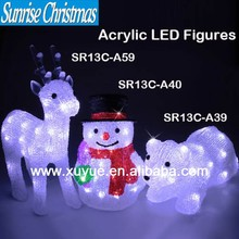 Acrylic LED Outdoor christmas decoration