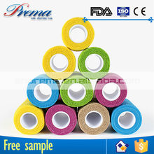 Own Factory Direct Supply Non-woven Elastic Cohesive Bandage newest first aid medical splint