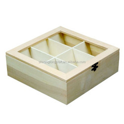 Customized Wooden Chocolate / Tea Box with Lock