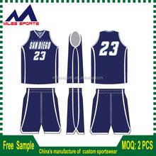 Sleeveless sublimation printing Basketball Jerseys / basketball sets