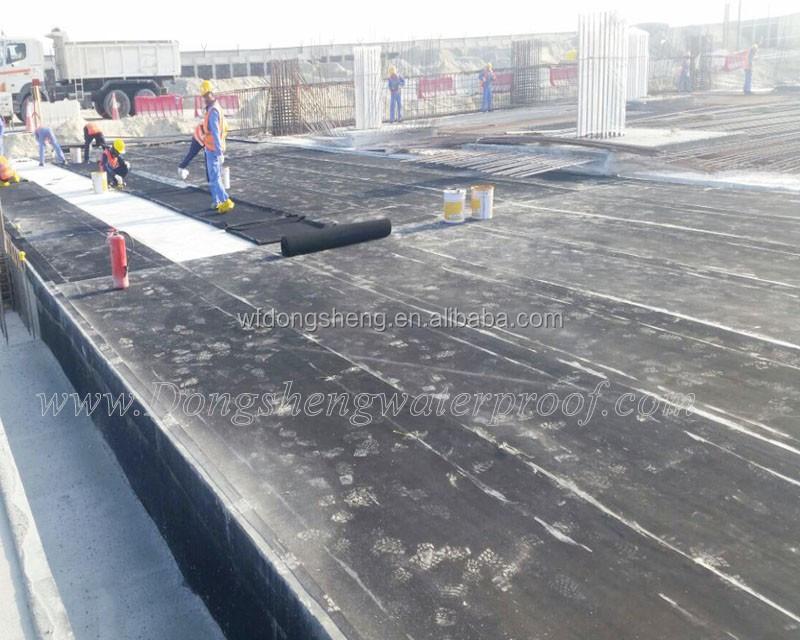 Epdm en caoutchouc imperm ables feuille pour toit et for Piscine caoutchouc construction
