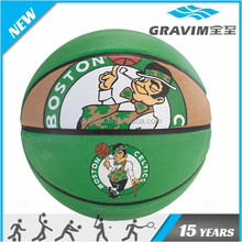 Green top quality basketball