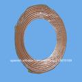 La bobina de cobre, parte del aire acondicionado, acondicionador de aire de la tubería de conexión