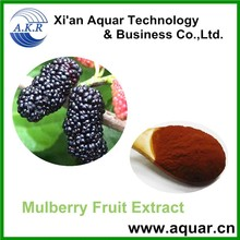 free sample DNJ,HACCP Kosher FDA mulberry extract,R&D 2% 20% DNJ polysaccharide mulberry fruit extract