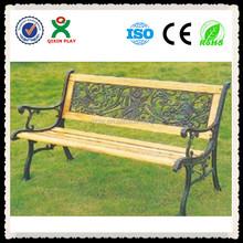 Garden leisure wooden long bench chair(QX-146F)/wooden garden chair/wooden deck chair frame