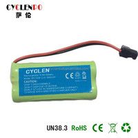 manufactuer price Nimh AA900MAH 2.4V battery pack for wireless phone