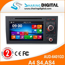AUD-6401GD with radio video BT wifiDVD car AUX on front Panel for AS4