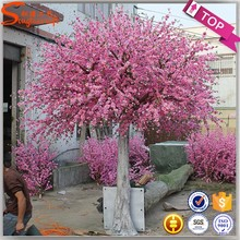 favoured by americans and europeans artificial silk fabric indoor artificial cherry blossom tree wedding decor