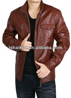 2013 lamb red leather mens jackets