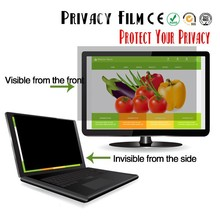 2 Way privacy screen protector Anti-spy Screen Protector For Laptop Computer Anti-peeping