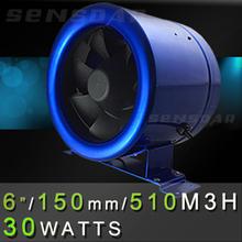 China de 30 W 110 V / 220 V 6 pulgadas ventilación ventana del baño ventilador