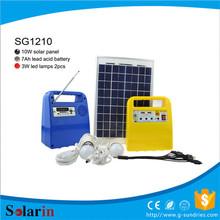 camping kits solar system live