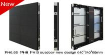 Die-casting p10 outdoor rental led display