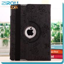 Ultra thin Flip PU Leather Stand Case Smart Cover 360 degree Rotating Automatic Wake/Sleep case For iPad 2 iPad 3 iPad 4